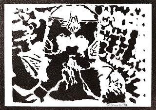 Poster Gimli El Señor de los Anillos Grafiti Hecho a Mano The Lord of the Rings Handmade Street Art - Artwork