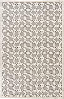 Jaipur Living Trella Trellis White Area Rug (5' X 7'6