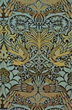Peacock and Dragon Woven Wool Furnishing Fabric by William Morris