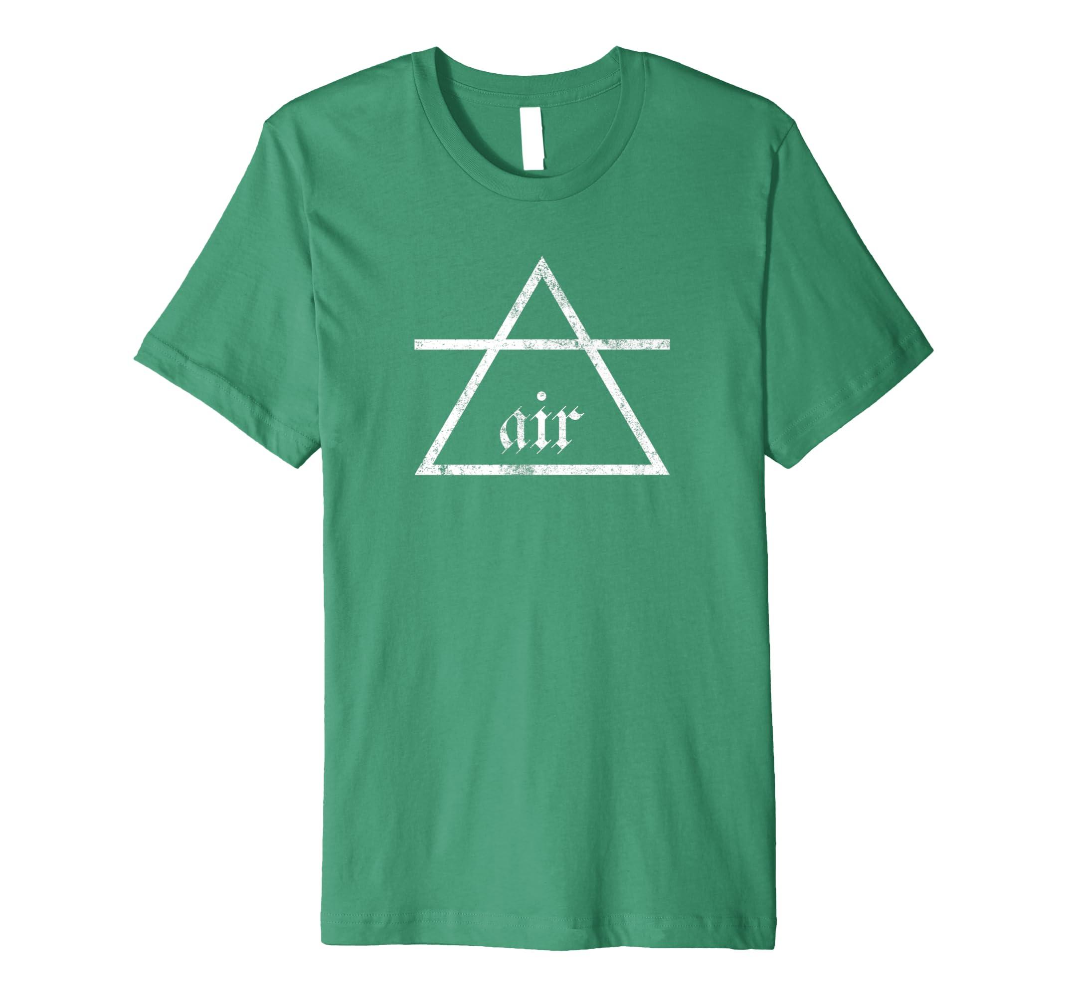 9102ce3fd5274 Amazon.com  Air Alchemy T-shirt Alchemical Classical Element Symbol   Clothing