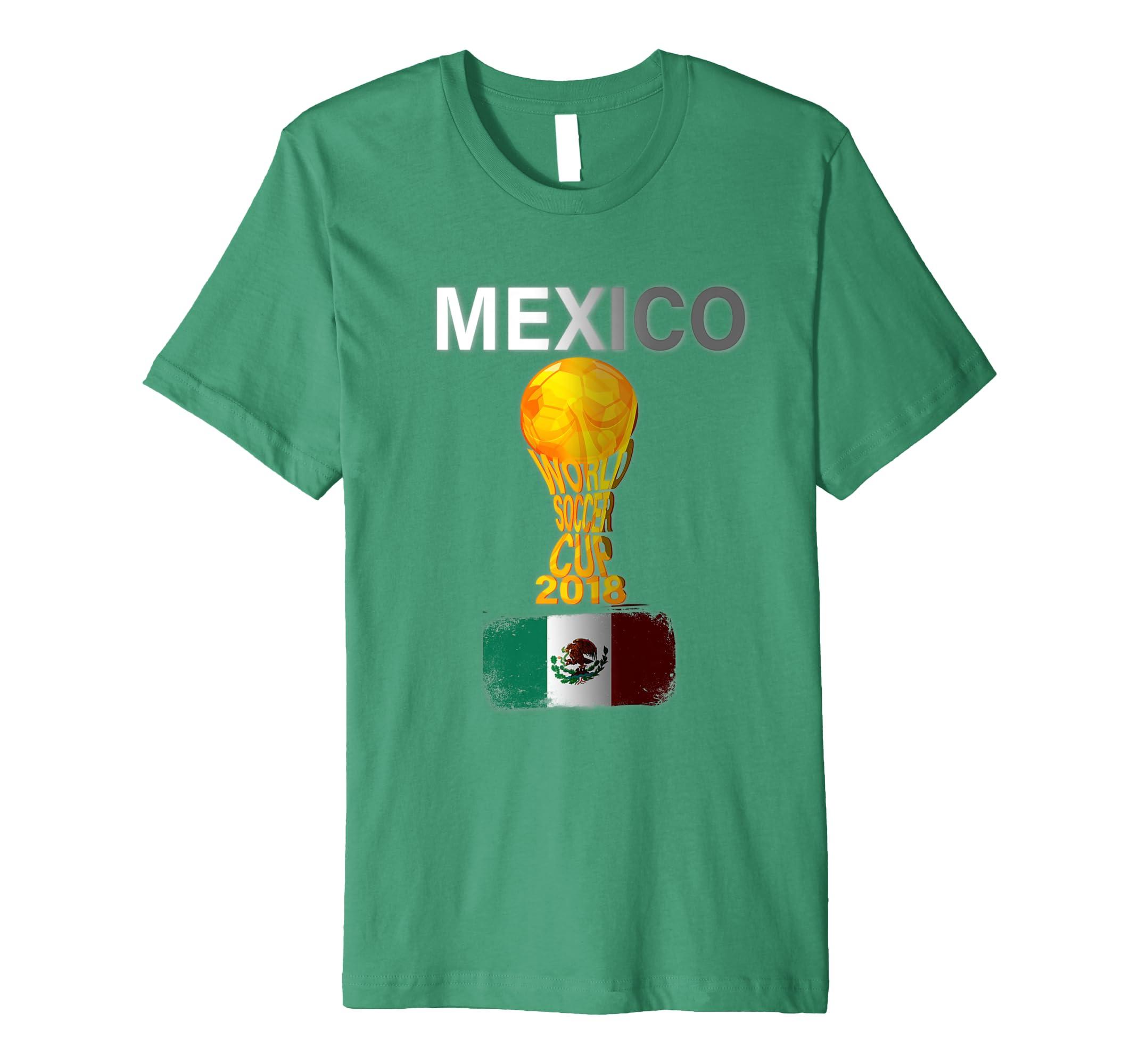 80b844d6a Mexico World Soccer Cup 2018 Fan Novelty Tshirt Men Women-prm ...