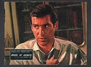 MOVIE POSTER: House of Secrets-1956-Michael Craig