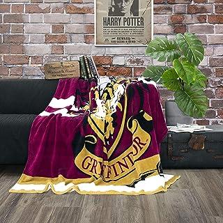 Character World Harry Potter Gryffindor - Manta de forro polar (160 x 200 cm), diseño de Hogwarts