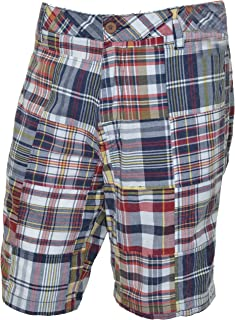 The New Ivy Men's Flat Front Chino Short