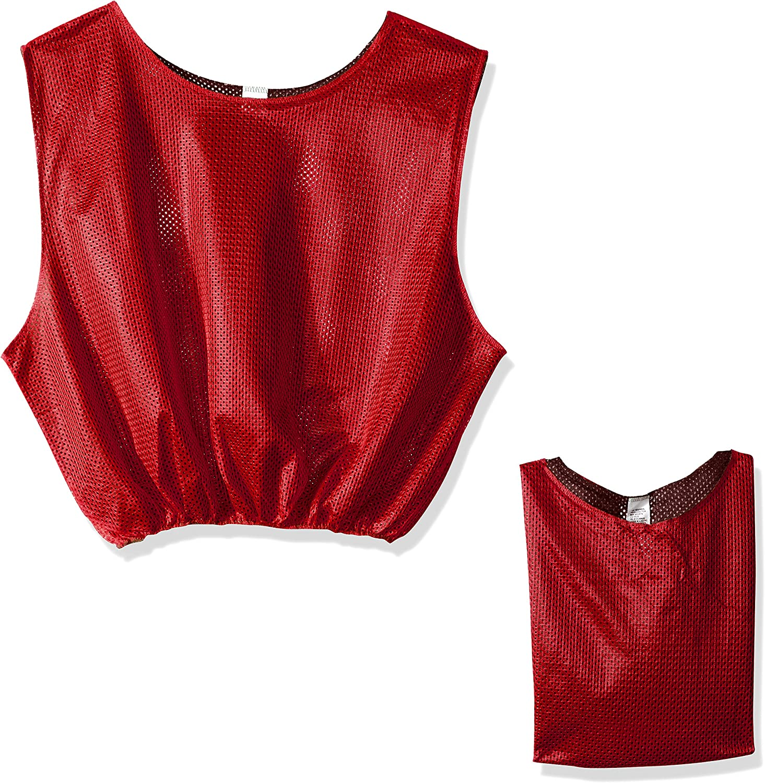 Reversible Scrimmage Vests Regular store Red Black Max 59% OFF