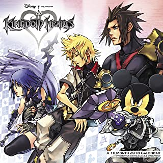 2018 Kingdom Hearts Wall Calendar (Day Dream)