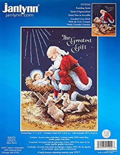 Best santa and baby jesus cross stitch Reviews