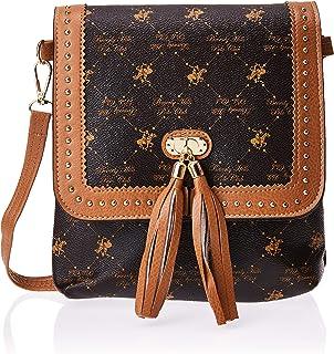 BHPC Womens Crossbody Bag, BROWN - BHVA4713BN