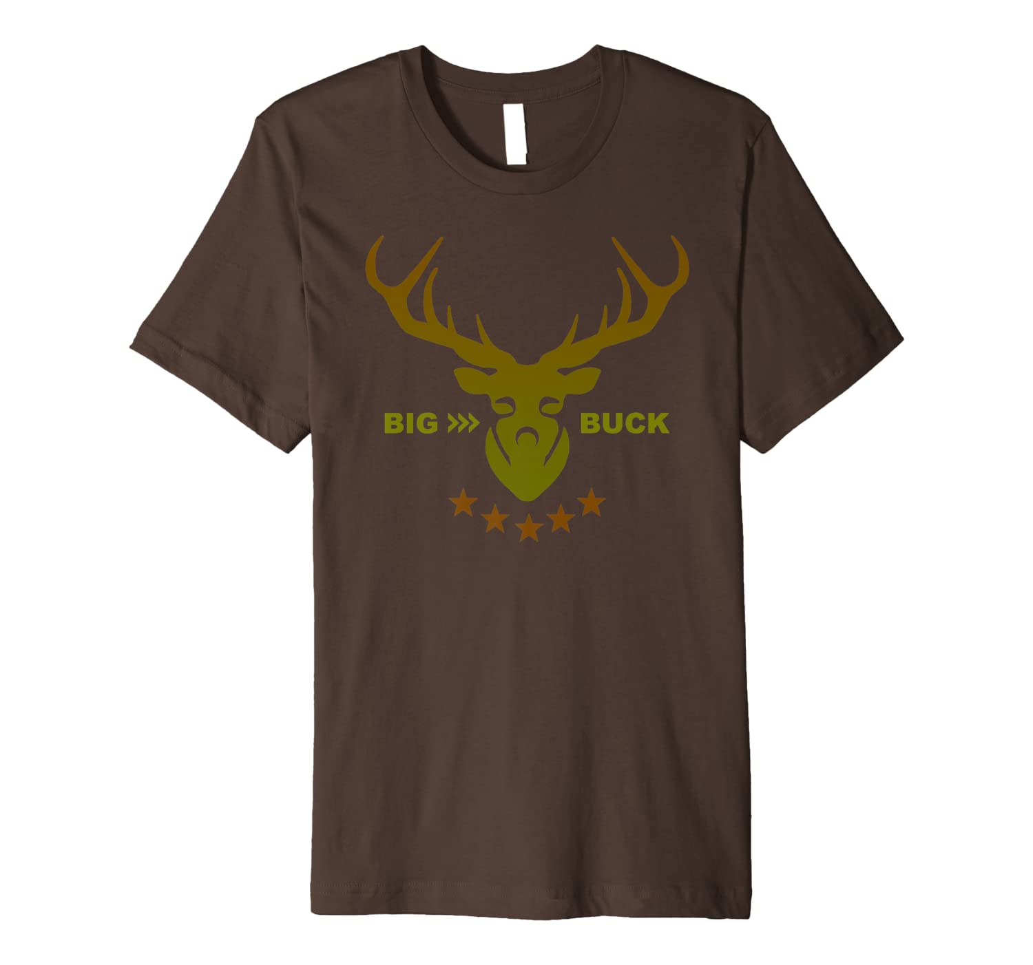 Hunters Big Buck Deer Hunting Premium T-Shirt Unisex Tshirt