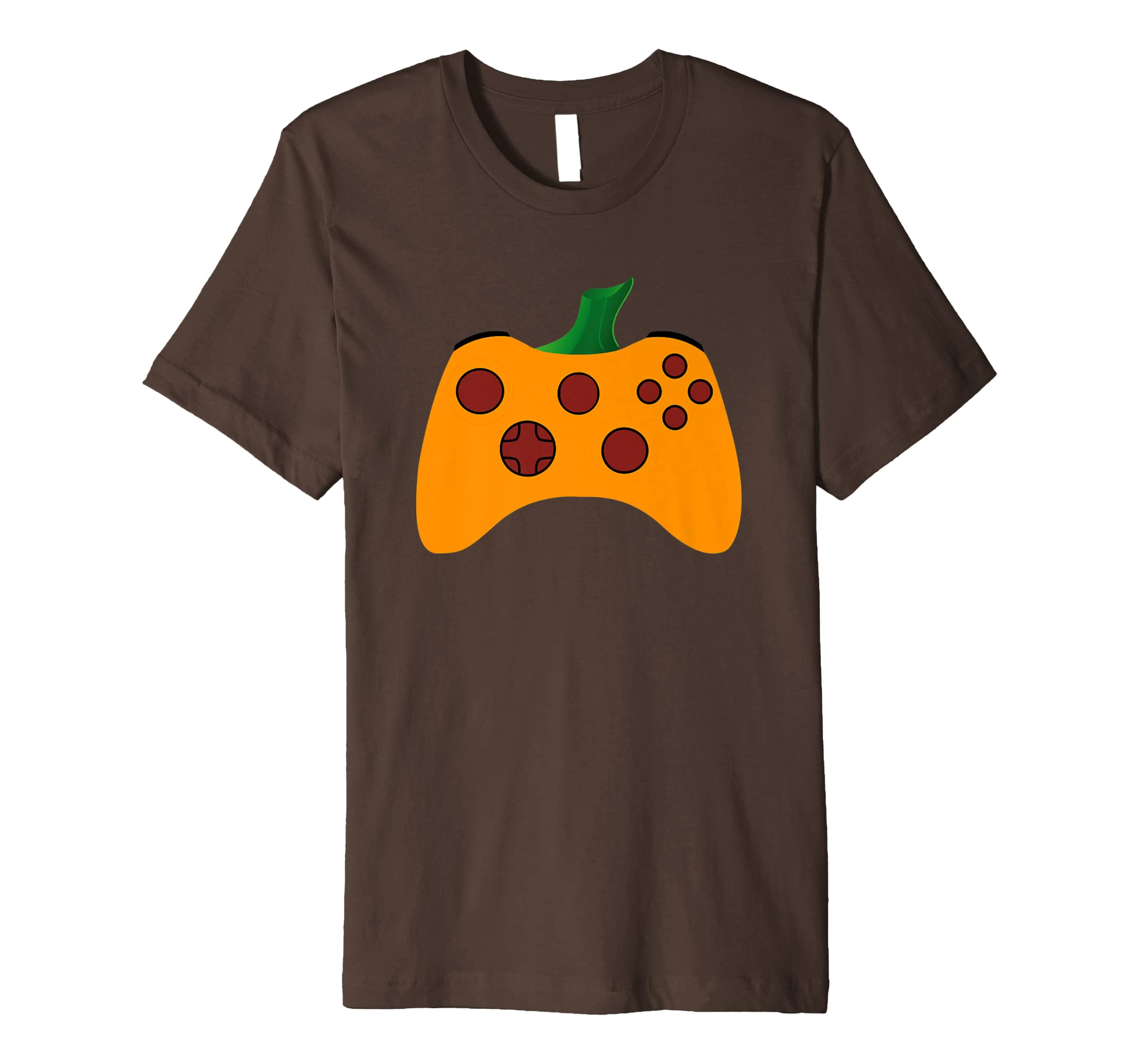 Video Gamer Halloween Shirt Funny Pumpkin Costume TShirt-Teesml