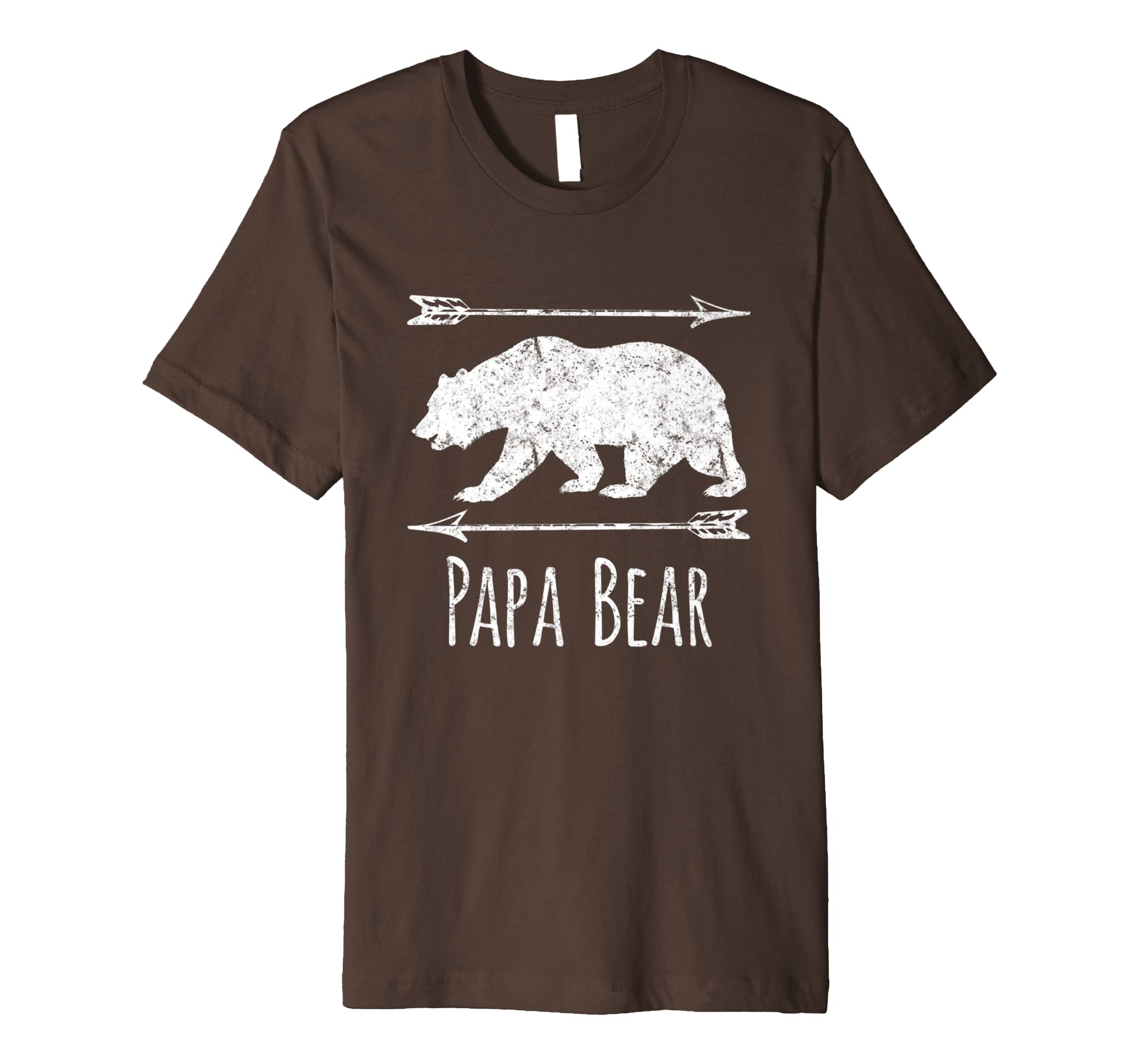 Amazon Mens Papa Bear T Shirt Birthday Gifts For Dad From Wife Men Clothing