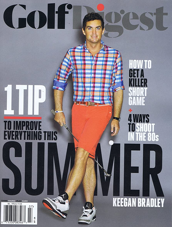 封筒人類襟Golf Digest [US] July 2014 (単号)