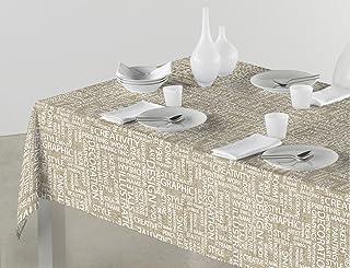 comprar comparacion SABANALIA - Mantel de Tela Antimanchas Arte (Disponible en Varias Medidas) - 140 x 200