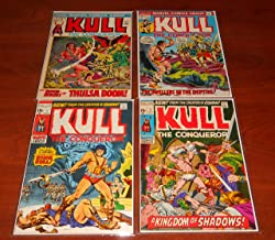Kull the Conqueror Marvel Comic Book Lot of Issues 1 2 3 and 7