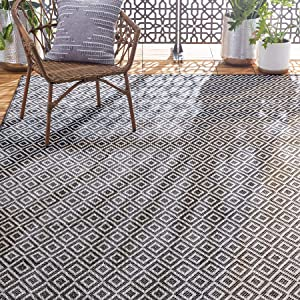 Home Dynamix Tripoli Lydia Geometric Area Rug, Charcoal/Cream, 6'6