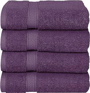 Utopia Towels - Conjunto de Toallas de baño (Paquete de 4,