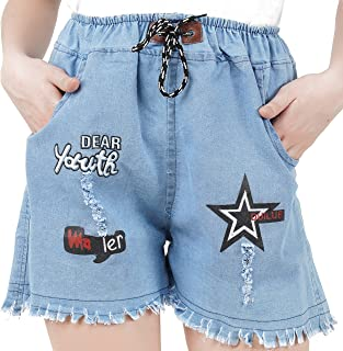 WILFREDO Denim Shorts for Women's (Pack of 1)