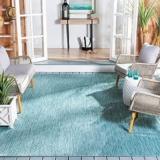 Safavieh Courtyard Collection CY8520-37122 Aqua Indoor/ Outdoor Area Rug (5'3