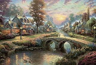 Ceaco Thomas Kinkade Sunset On Lamplight Lane Puzzle - 2000Piece