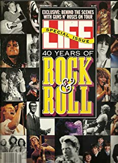 * 40 YEARS OF ROCK & ROLL SPECIAL ISSUE * Madonna, The Beatles, Michael Jackson, Elvis Presley, Behind-the-Scenes with Guns N' Roses On Tour - LIFE Magazine