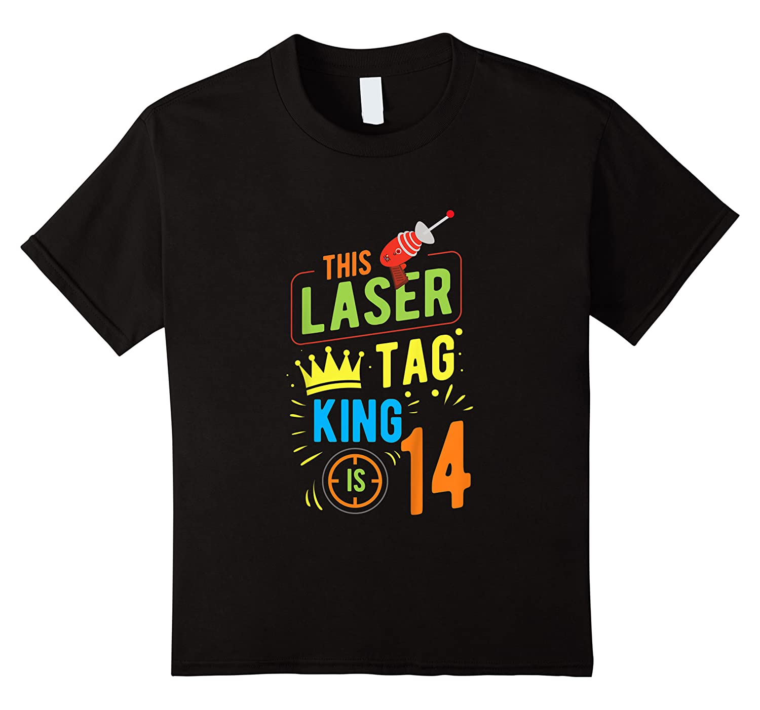 Laser Tag Gift King Is 14 Shirts