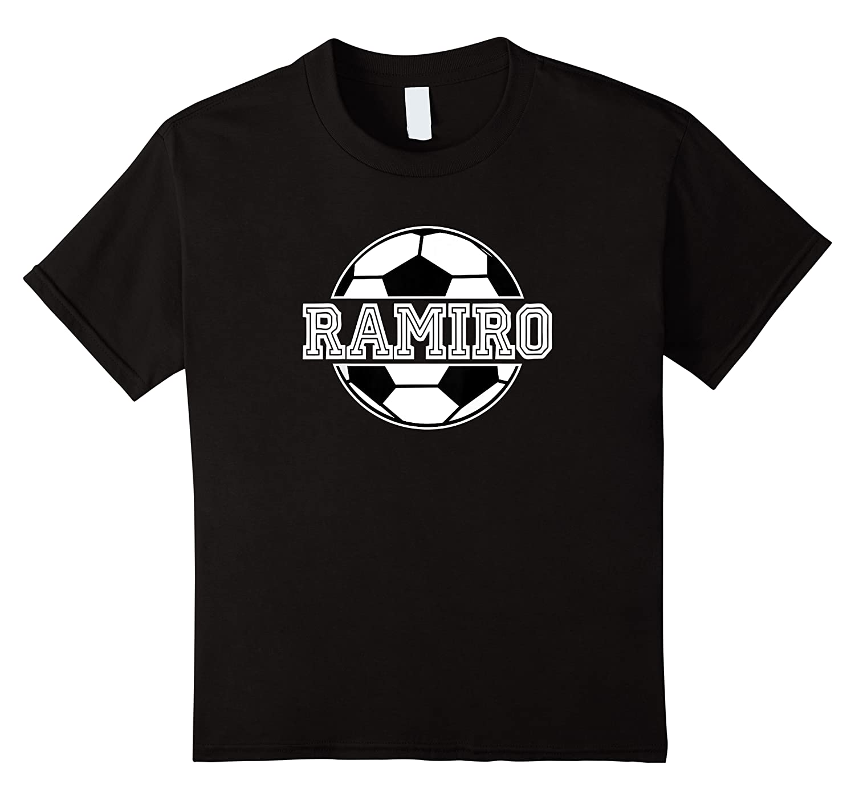 Soccer Boy Ramiro Birthday Soccer Ball Name Shirts