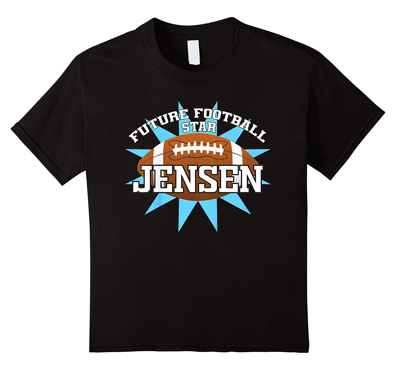 Future Football Star Jensen Birthday Boy Name Shirts