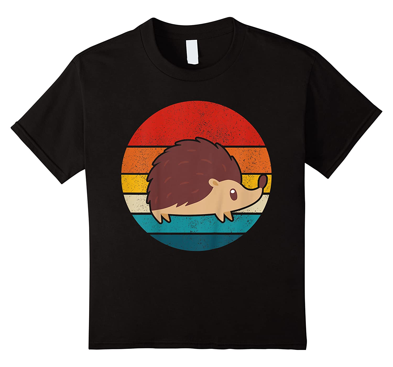 Hedgehog Vintage Retro Hedgehog Mom Funny Cute Gift Shirts