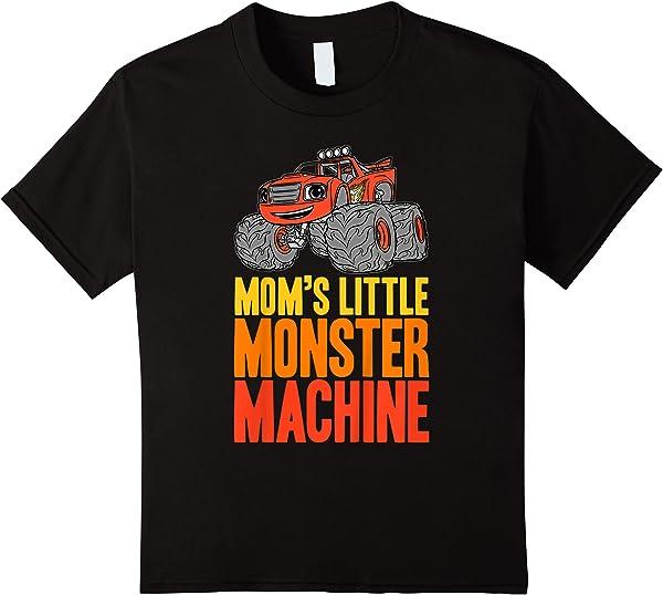 Blaze And The Monster Machines Mom's Little Monster T-shirt