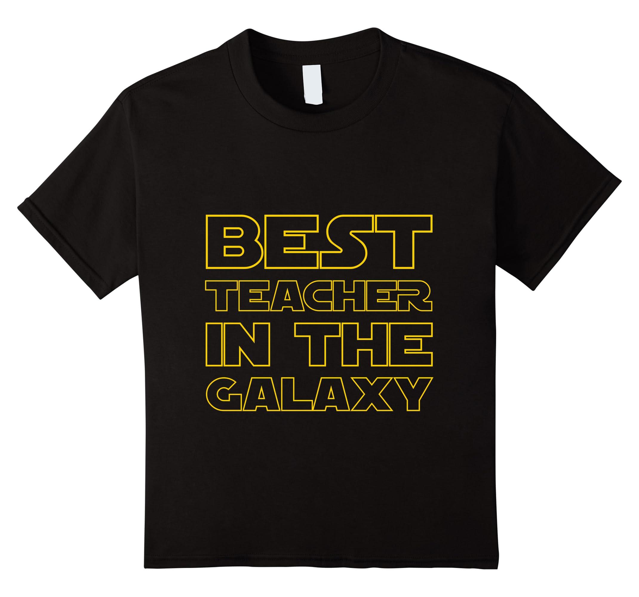 Best Teacher Galaxy Birthday TShirt-Veotee