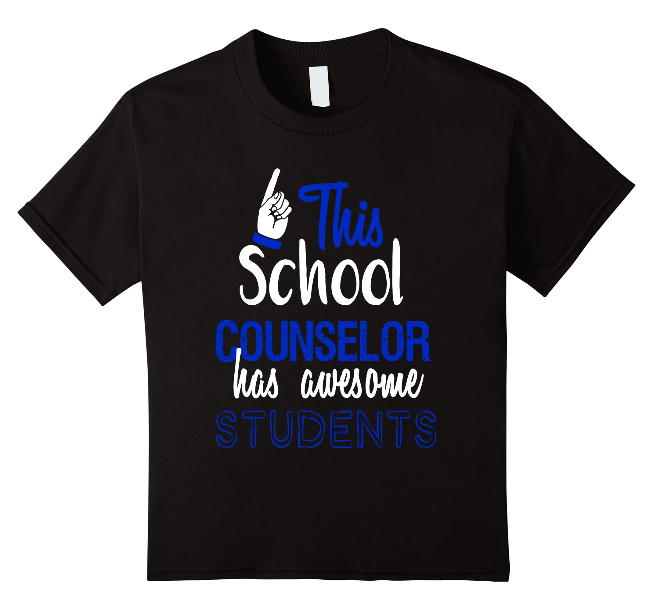 School Counselor Awesome Students T Shirt-Xalozy