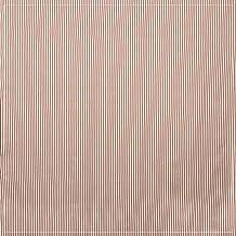 مفرش مربع من هيرتاج ليس تيكنغ مقاس 152.4 سم × 152.4 سم، أحمر/أبيض