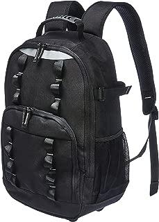 AmazonBasics 22 Pocket Tool Bag Backpack With Utility Loops