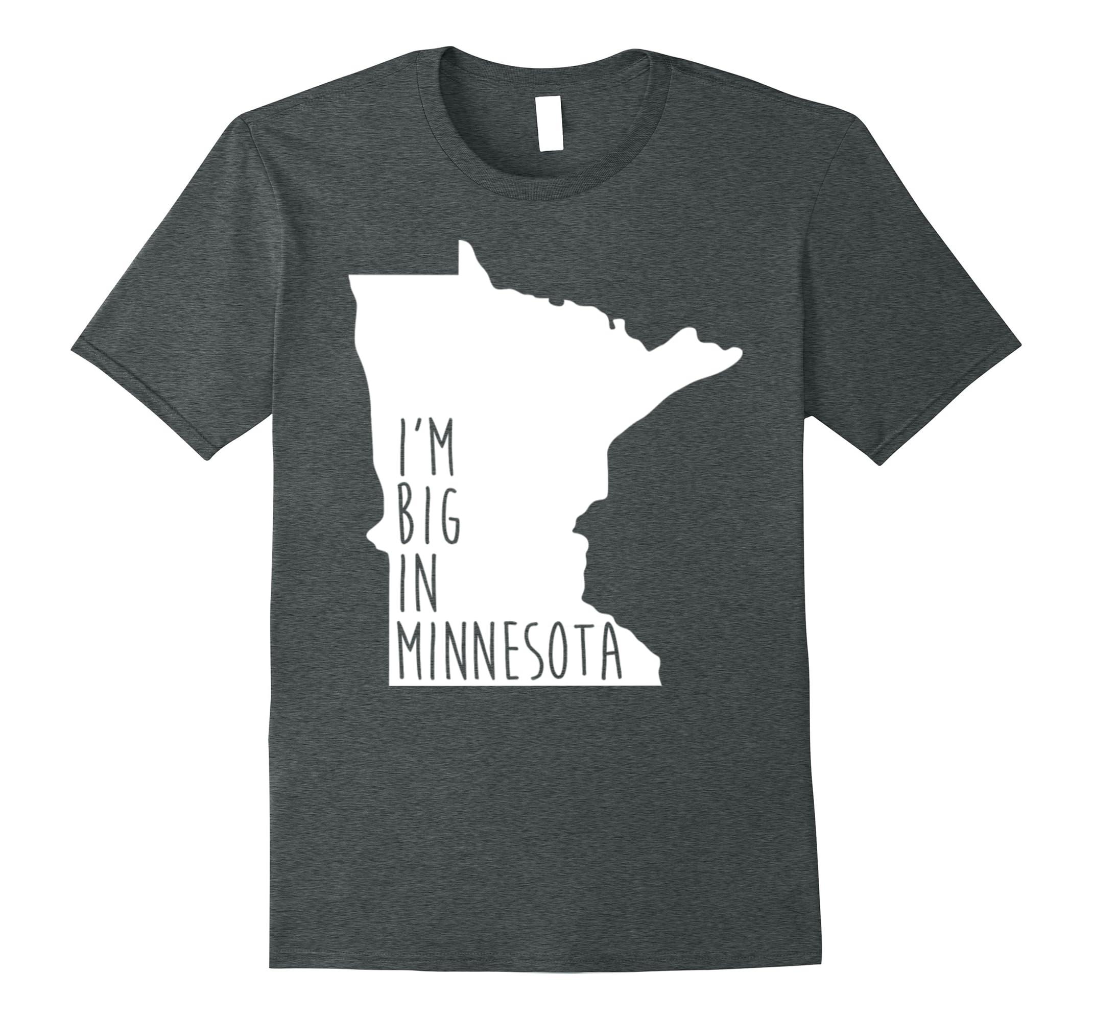 PREMIUM MINNESOTA State Tshirt Minneapolis Home State Tee-RT