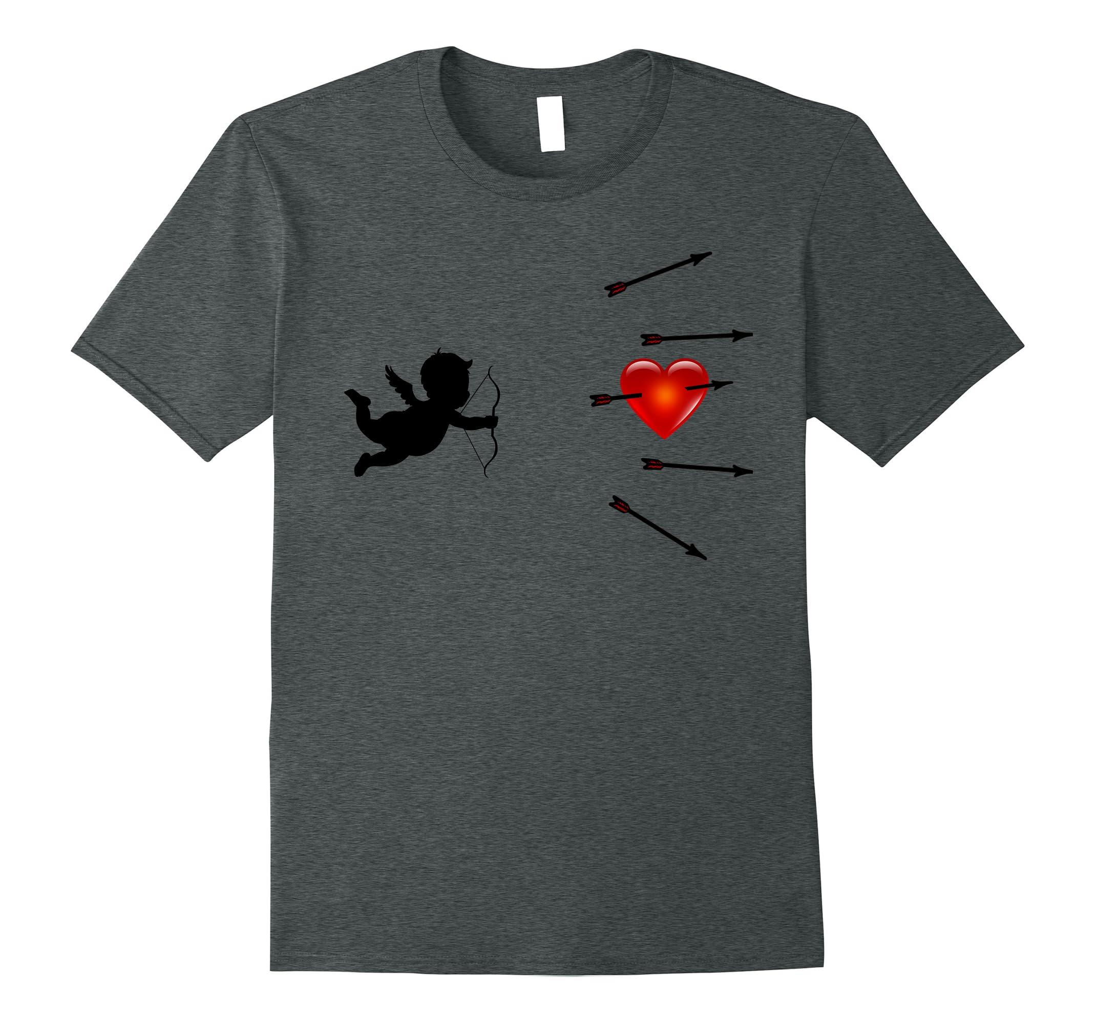 Fun Valentine T Shirt Cupid Arrows-Teechatpro