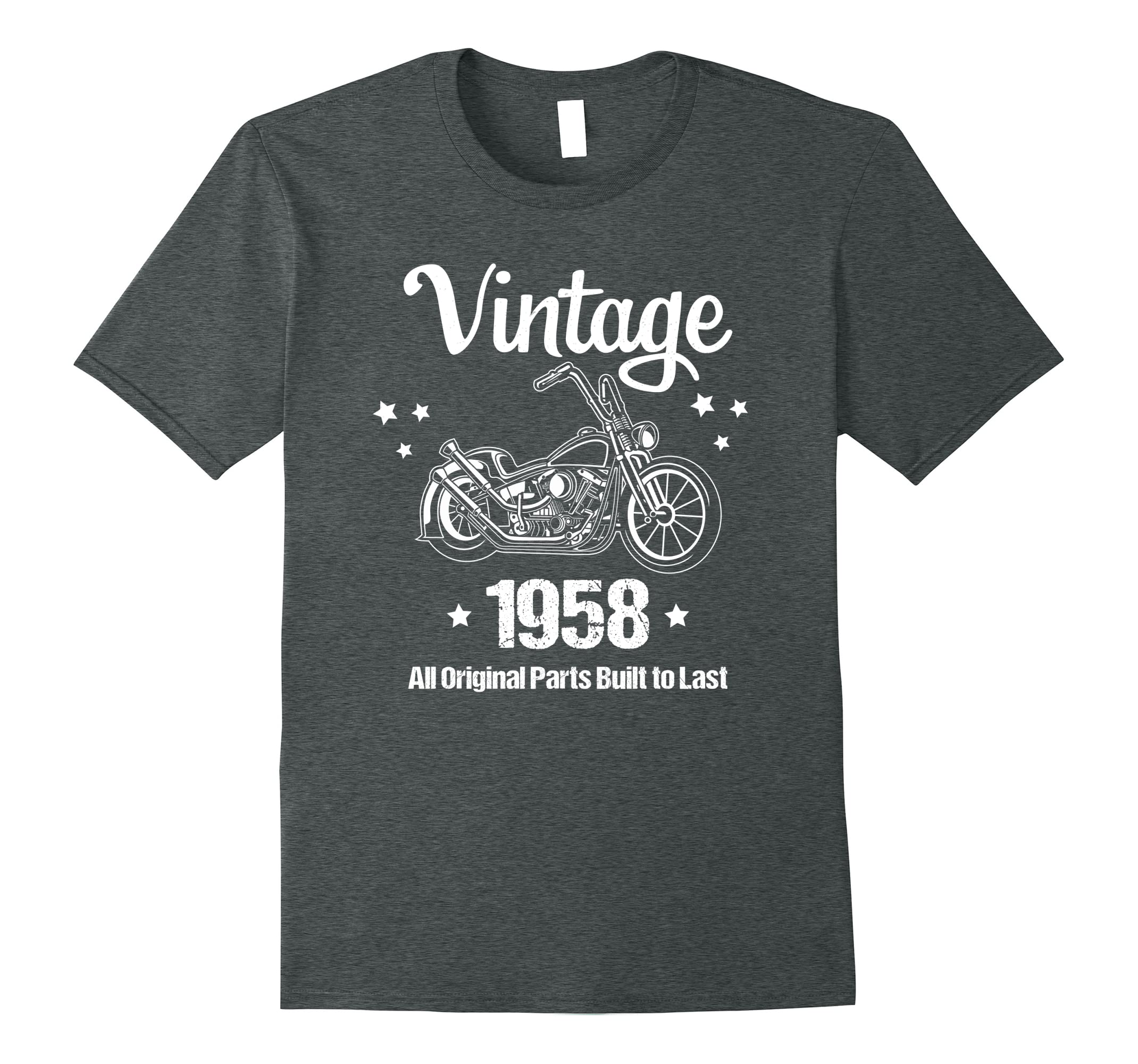 Funny 60th Birthday Gift Vintage Born 1958 T Shirt Ah My One