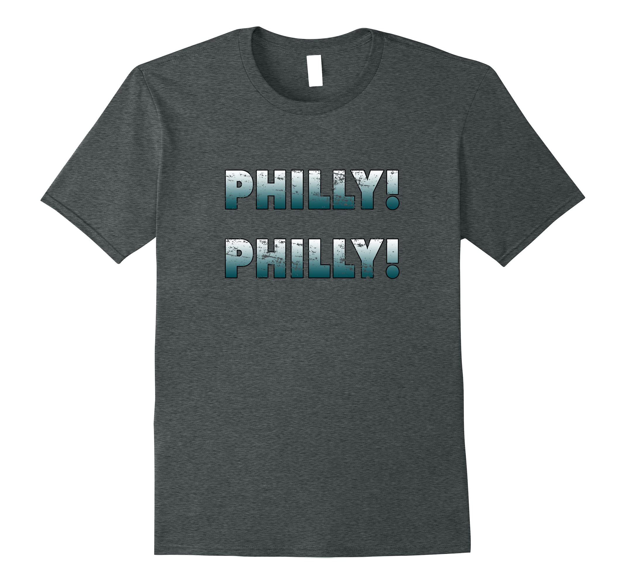 Philly Philly Green to White Vintage Graphic T Shirt-ah my shirt one gift