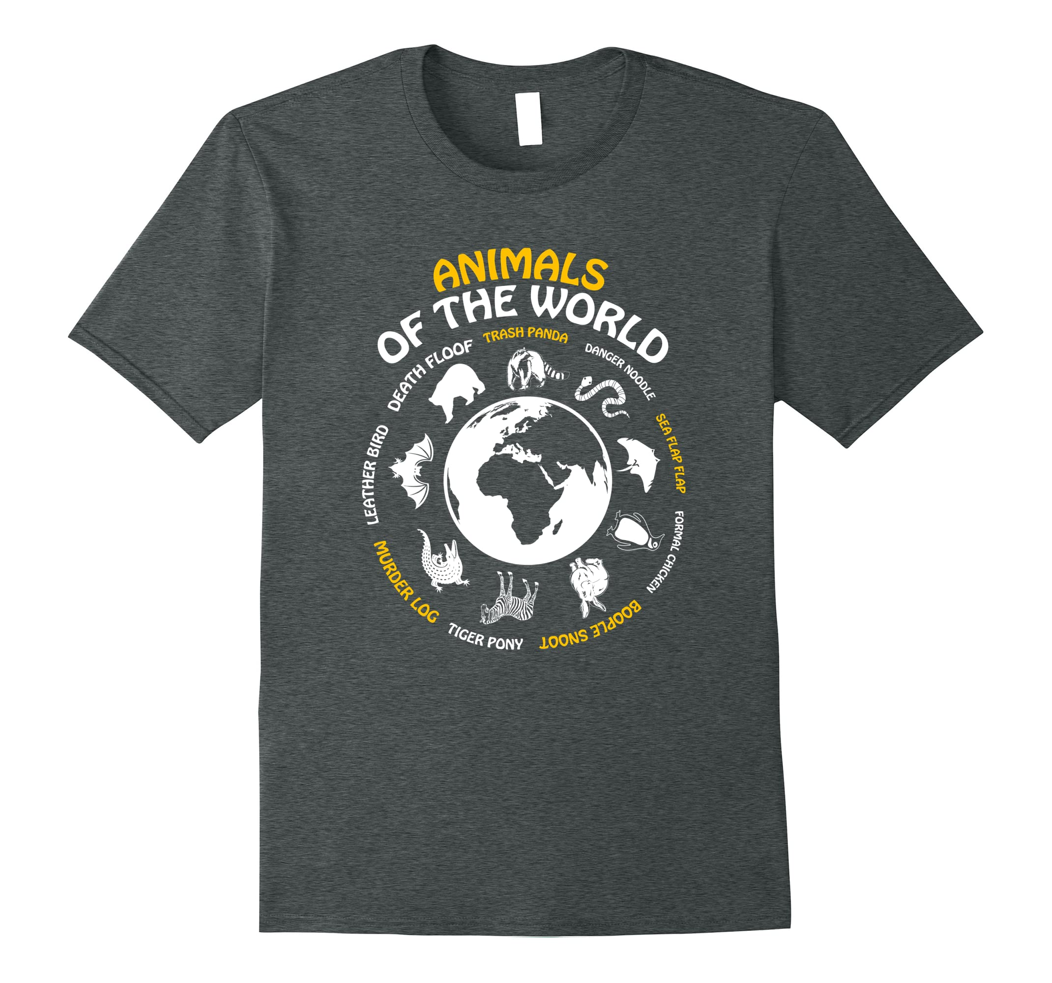 68f21682c Rare Animals of The World Tshirt Snorg Tees Funny Gift Kids-RT ...
