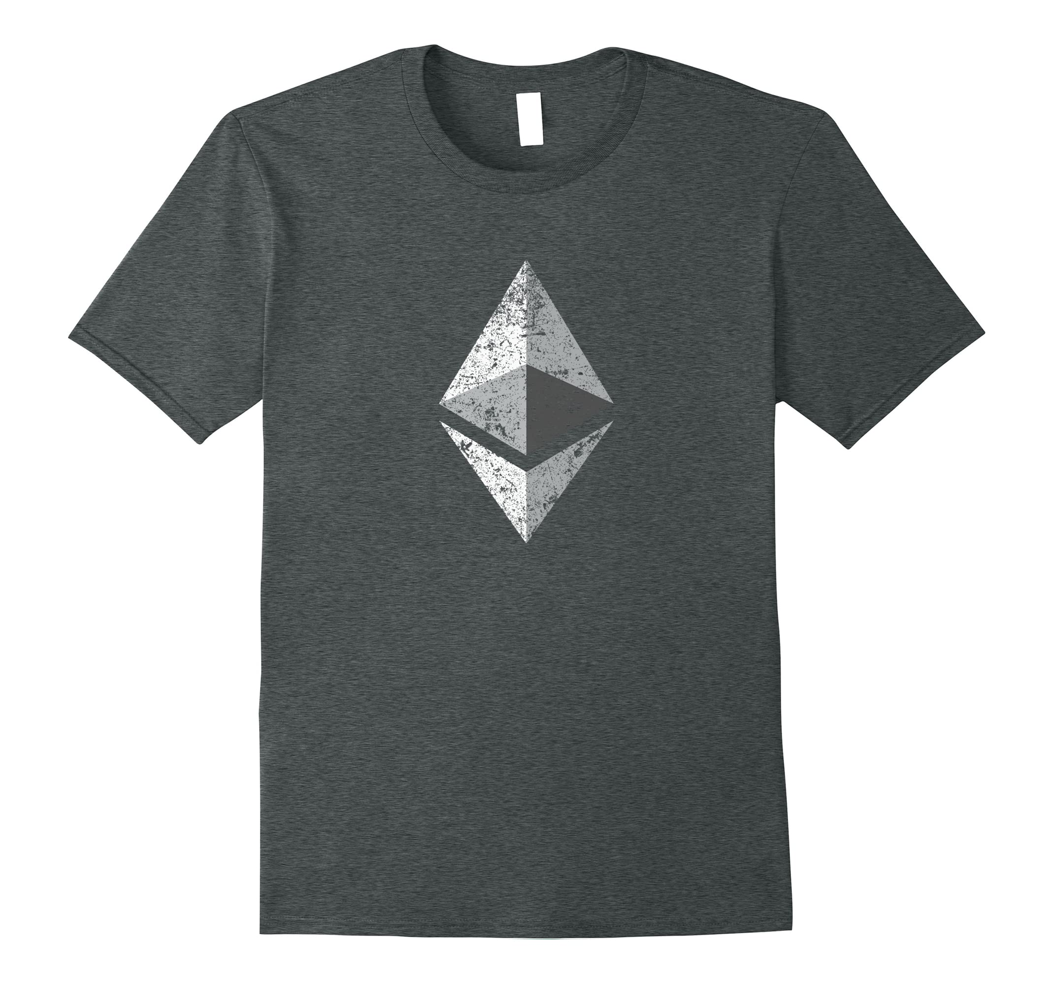 Ethereum Shirt Distressed Logo T Shirt-Newstyleth