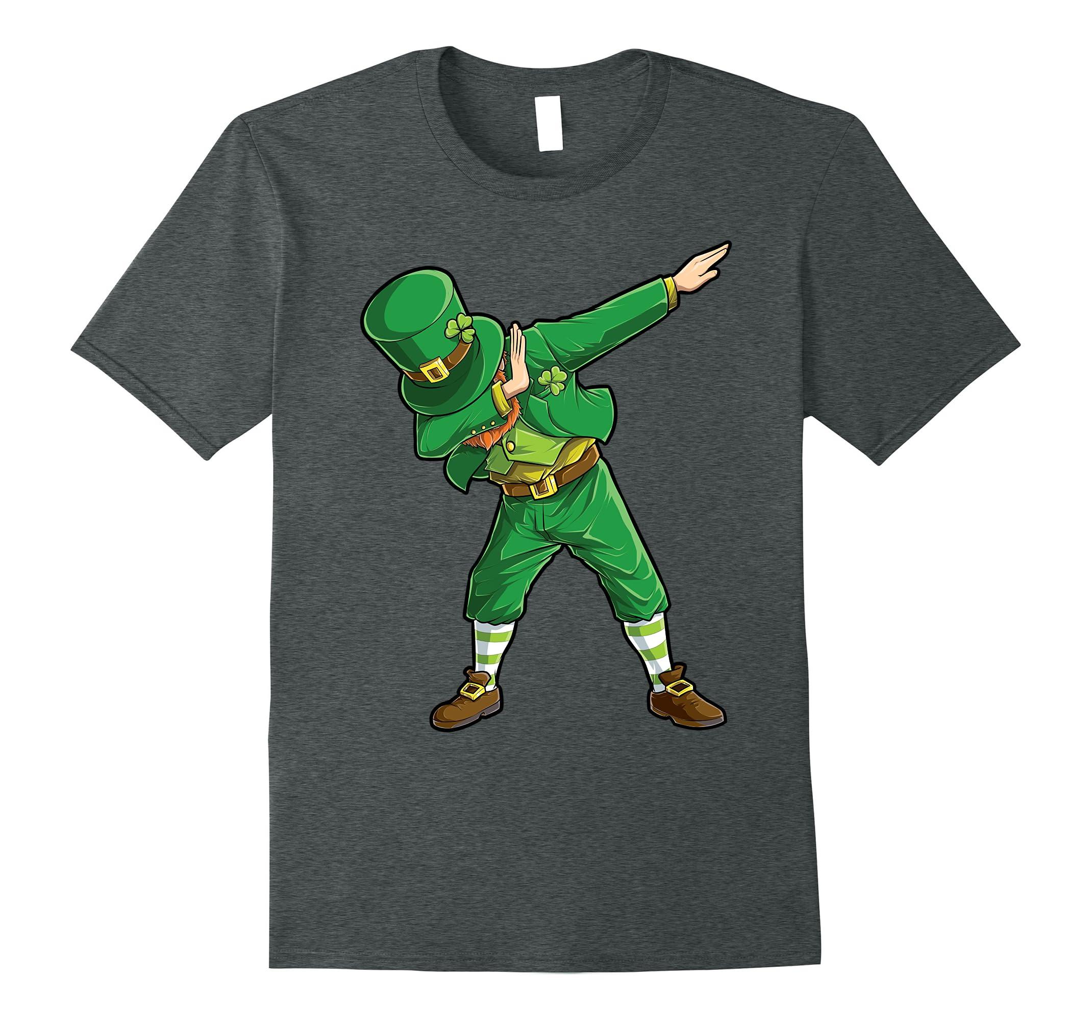 db508ef23 Dabbing Leprechaun T shirt Funny Dab St Patricks Day Gift-ah my shirt one  gift