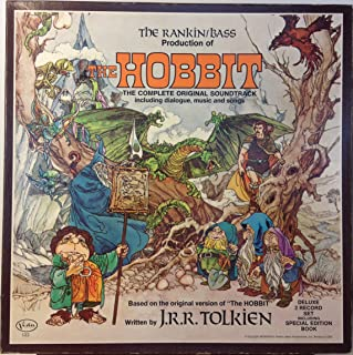 The Rankin/Bass Production of The Hobbit, The Complete Original Soundtrack Including Dialogue, Music and Songs. Deluxe 2 Record Set Including Special Edition Book. Vinyl Lp's.