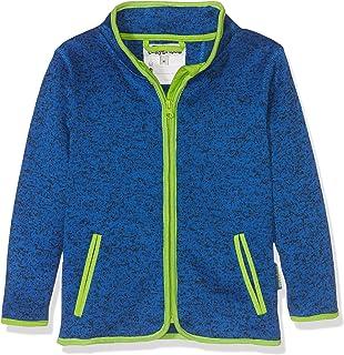 Playshoes Kinderjas van fleece, ademend en hoogwaardig jasje met ritssluiting