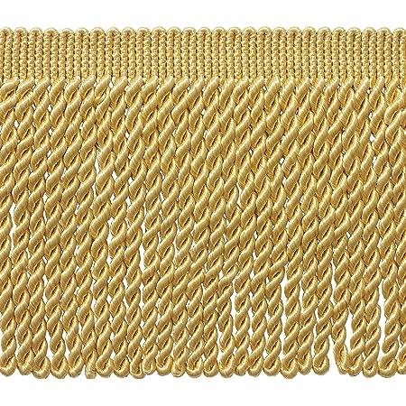 6 Inch Long Auburn Basic Trim Collection Style# BFS6  Camel Gold Bullion Fringe Trim Wine,Beachwood 18 Yard Package