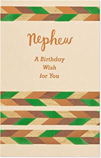 Celebrate Birthday Card for Nephew with Foil
