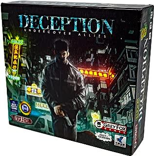 Grey Fox Games Deception: Undercover Allies Board Game