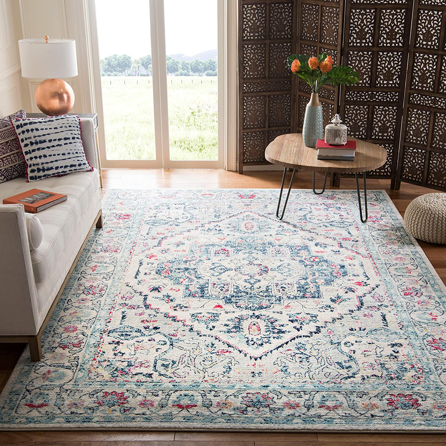 free Safavieh Madison Collection MAD930N Chic Boho Direct sale of manufacturer Oriental Distresse