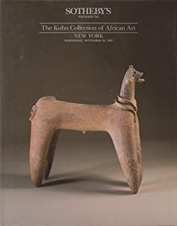 The Kuhn Collection of African Art New York November 20, 1991