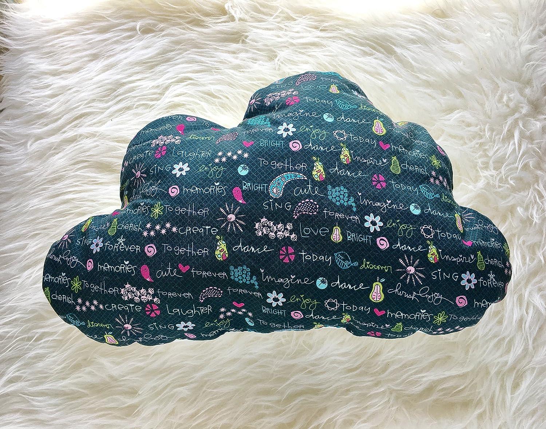 Doodle Phrases Cloud shipfree Pillow Popular overseas