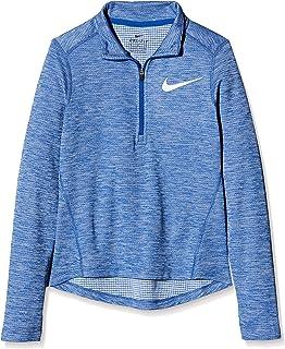 Nike 耐克 女孩 G Nk 长袖上衣 Run Hz 袖子 T 恤