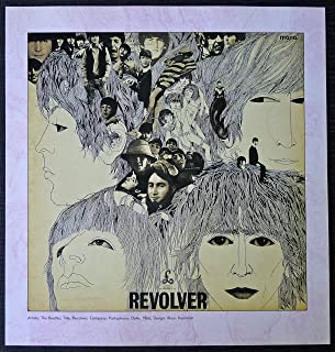 revolver poster beatles
